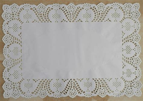 How To Make Paper Lace Doilies - 200pcs 10 14 5 embossed rectangular paper doily