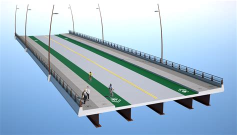 section of a bridge sustainability sellwood bridge