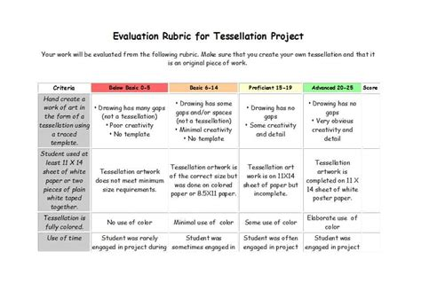 46 Editable Rubric Templates Word Format ᐅ Template Lab Grading Rubric Template