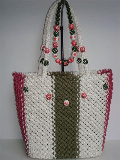 macrame tote bag pattern 207 best makrame images on pinterest crochet bags
