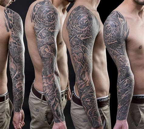 native american tattoo sleeve empire