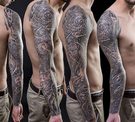native american tattoo sleeve empire