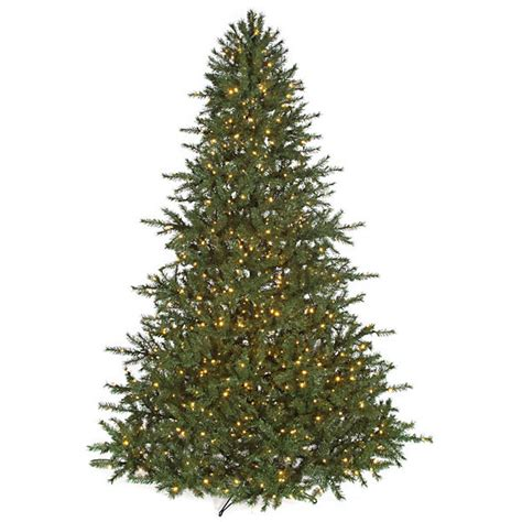 10 foot richmond pine christmas tree all lit lights c