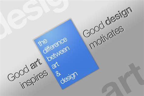 the difference between art and design anderley the difference between art and design webdesigner depot