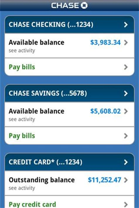 chase mobile for android free download and software