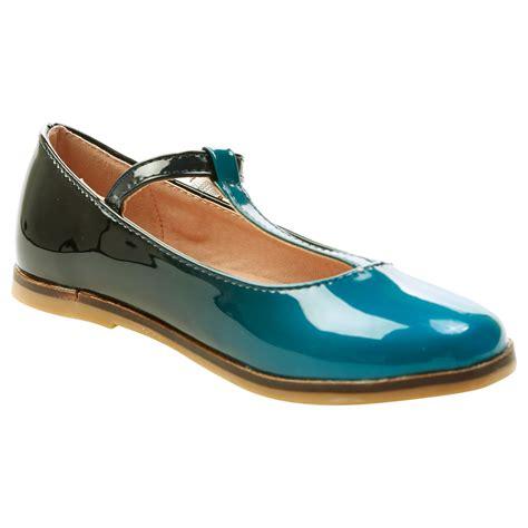 Scorah Pattullos T Bar Ballerina Flats by Shoes Childrens Flats Ballet Shoes Pumps Ombre