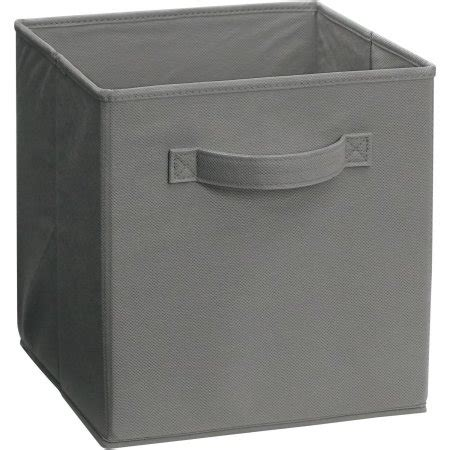 Closetmaid Fabric Drawers Gray closetmaid 174 cubeicals 174 smoke gray fabric drawer walmart