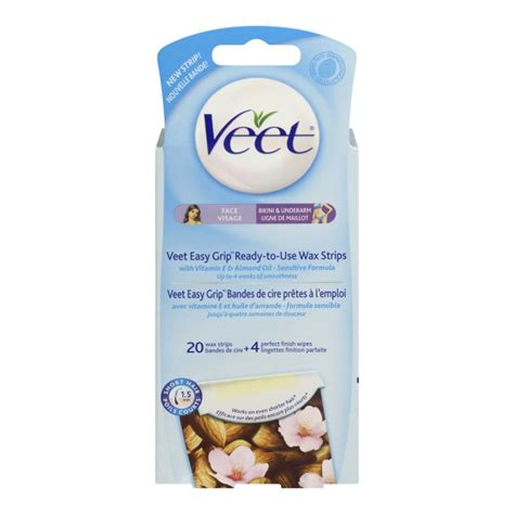 Veet Finish Wipes Pembersih Bekas Wax buy veet easy to use wax strips for in canada free shipping healthsnap ca