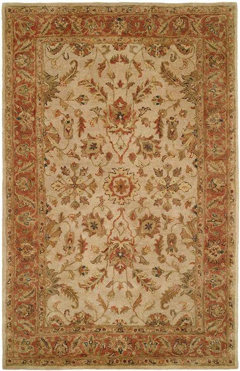 kalaty rugs empire em 282 ivory rust rug by kalaty