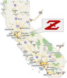 maps drections to z car garage sf bay area ca