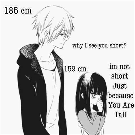 anime couple tall guy short girl black and white boy cute girl inu x boku ss love