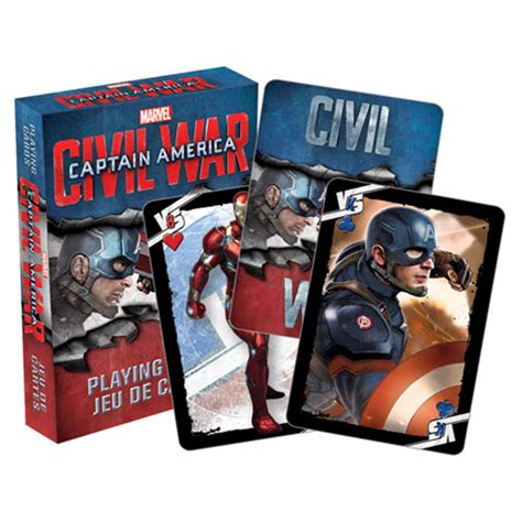 Promo Capitan Stainless Fitrimarts captain america civil war cards