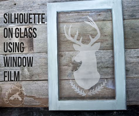 silhouette  glass clumsy crafter