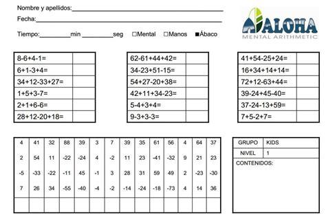 preguntas cuadradas juego matematico fichas para practicar c 225 lculo mental aloha mexico
