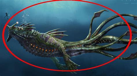 imagenes reales de leviatan 5 monstruos marinos captado en video y visto en la vida