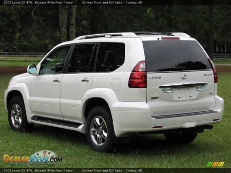 lexus gx470 2008 2008 lexus gx 470 blizzard white pearl ivory photo 6