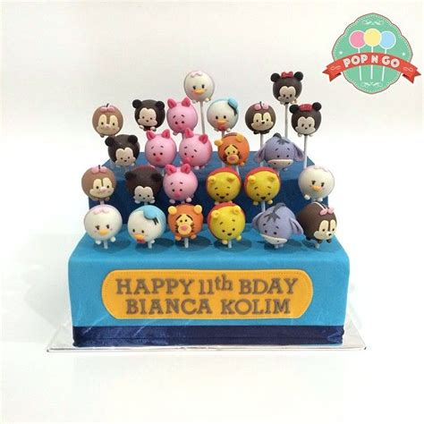 Tsum Tsum Birthday Cakes 6 17 Best Images About Tsum Tsum On Disney Hong