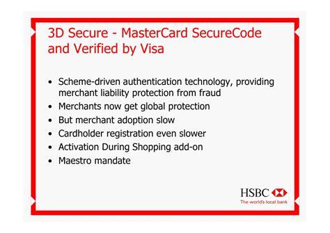 deutsche bank 3d secure mastercard tackling card fraud hsbc derek wylde