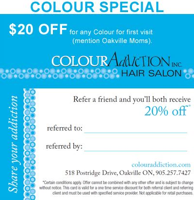 haircut coupons oakville july e newsletter 2012