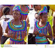 Carnival Costumes In Trinidad And Tobago Editorial
