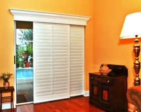 Decor window treatment ideas for sliding glass doors