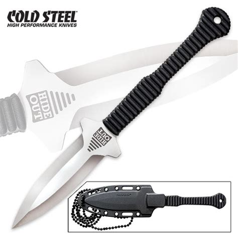protection knives cold steel hide out neck knife covert protection 6 5 in