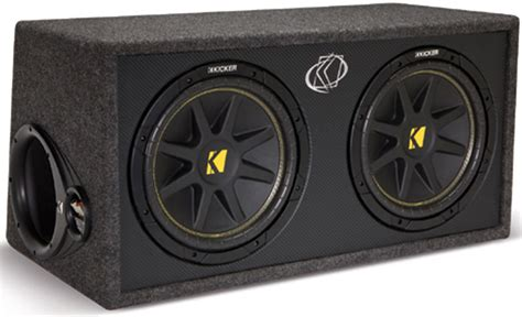 Speaker Aktif Box Subwoofer 12 kicker car audio loaded dual 12 quot dc12 comp subwoofer