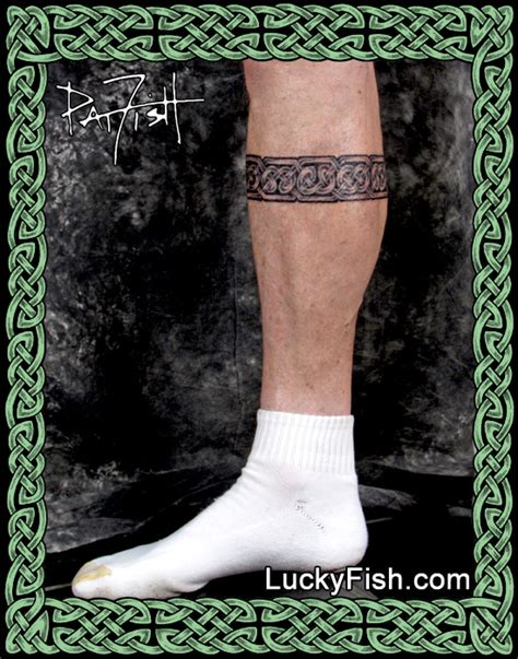 calf band tattoo celtic guardian band luckyfish inc and