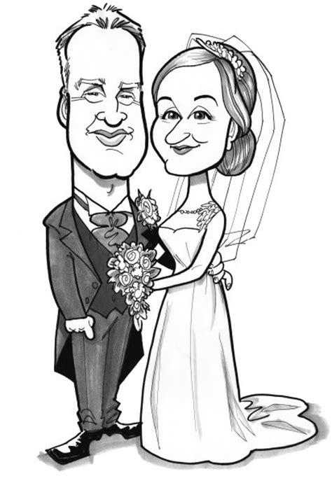 wedding invitations caricature drawing caricature wedding invitations
