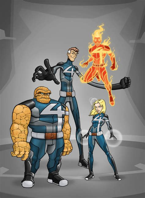 honorable mentions at marvel this week x men 6 thor god of fantastic four redesign by mickey377 on deviantart