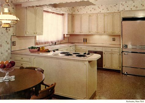 60s kitchen wood mode kitchens from 1961 slide show of 15 photos