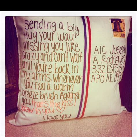 Handmade Best Friend Gifts - postcard pillow the one you re with