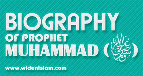 biography about nabi muhammad the biography of prophet muhammad pbuh widenislam com