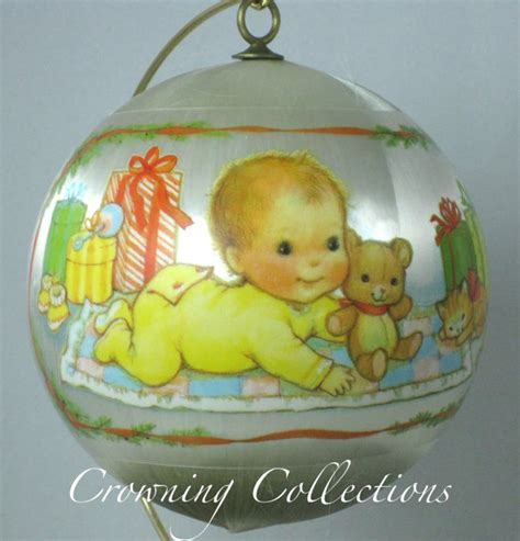 hallmark baby s 1st ornaments 1978 hallmark baby s by crowningcollections