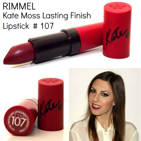 Lipstick Revlon Lasting the sparkling cinnamon rimmel 107 lasting finish