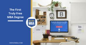 The No Pay Mba by The Truly Free Mba Degree No Pay Mba