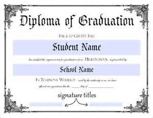 high school diploma template pdf high school diploma template printable certificate