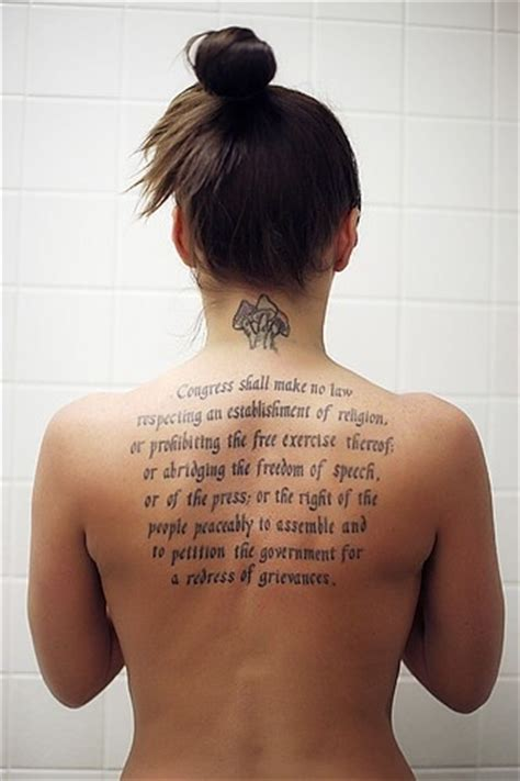 first amendment tattoo ink me pinterest
