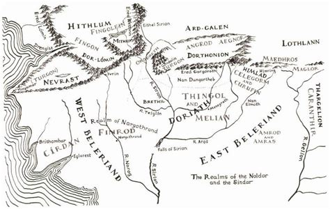 printable map middle earth printable hobbit map google search tolkien beauty