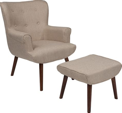 upholstered chair with ottoman oliver upholstered wingback chair with ottoman ebay