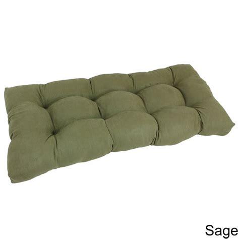42 bench cushion blazing needles 19 quot x 42 quot bench cushion sage ebay