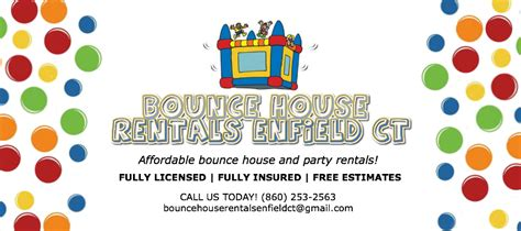 Bounce House Business Cards Templates