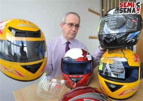 Helm Yang Ada Kacamatanya hati hati ada helm abal abal yang dijual via semisena