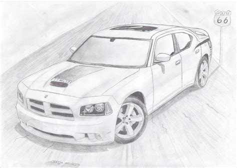 how to draw a dodge challenger drawingforall net dodge charger str 8 bee by daharid on deviantart