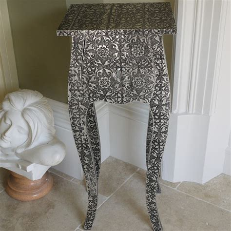 black and silver bedside ls blackened silver small bedside shabby chic candle