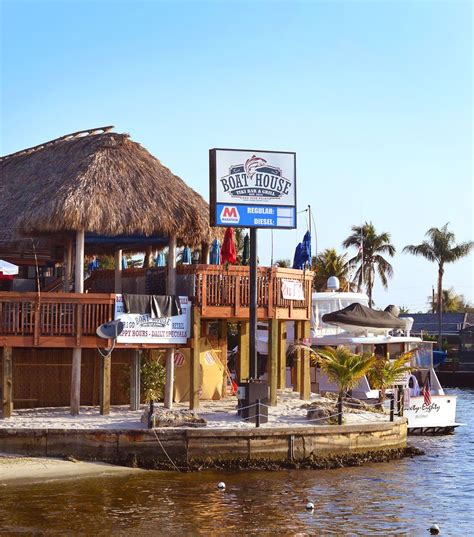 boathouse cape coral boating bars and bungalows in cape coral florida beach