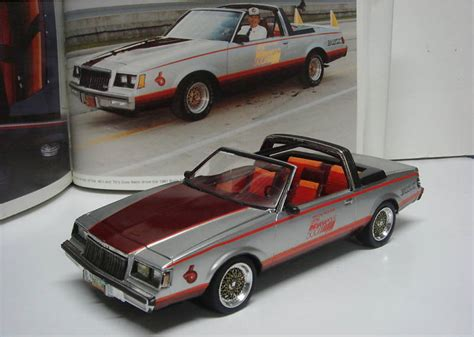 Handmade Model Cars - 1981 indy 500 buick regal pace car model