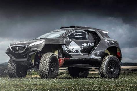 Schnellstes Auto La Noire by Peugeot 2008 Dkr Sa Livr 233 E Pour Le Dakar 2015 D 233 Voil 233 E