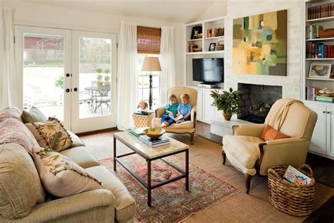 southern living decorating ideas build in your entertainment area 106 living room