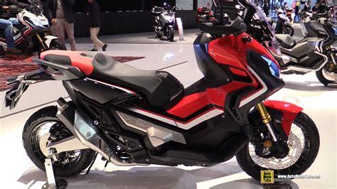 Motorrad Navi Neuheiten 2017 by 2017 Honda X Adv 750 Maxi Scooter Walkaround Debut At
